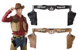 Dubbel sheriff hölster