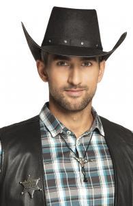 Cowboy set - halsband och sheriff stjärna