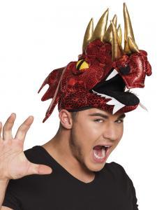 Hatt röd drake