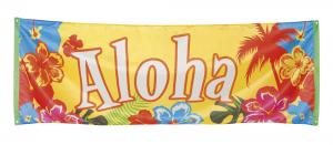 Banner Aloha hawaii tema