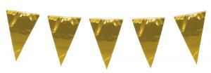 Vimpelgirlang guld XL