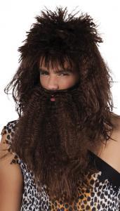 Peruk Grottmänniska med skägg