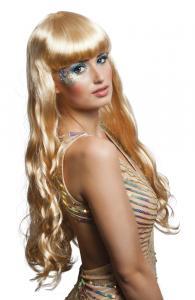 "Peruk ""Oceana"" blond lång"
