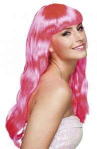 Peruk Chique Cerise rosa
