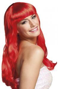 Peruk Chique röd