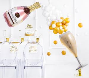 champagne BALLONGBUKETT INKL HELIUM