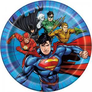 """Justice League 7"""" tårttallrik"""
