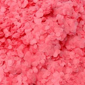 konfetti ljus röd i papper