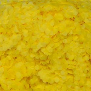 konfetti gul