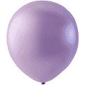 Mini Latex ballonger pärlemor rosa