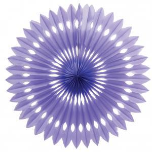 Papper solfjäder lila