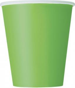 Engångsmuggar Grön 14 st