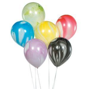Latexballonger 25-pack Marmor färg-mix osorterad