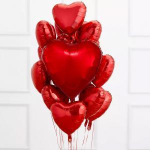 Alla hjärtansdag 13st ballonger