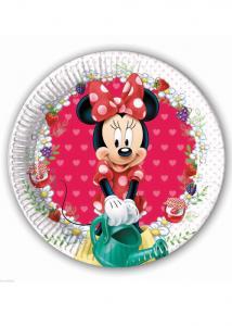 Minnie mouse 8-pack papperstallrikar