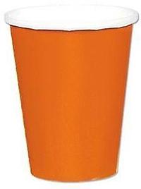 Pappersmuggar Orange 8-pack