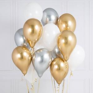 14st helium ballonger jubileum