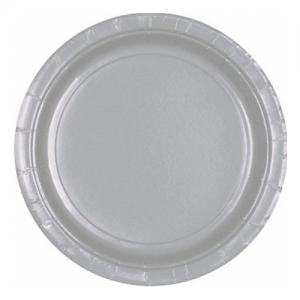 Desserttallrik Silver 20-pack