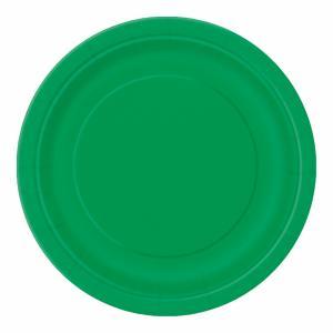 Desserttallrik Grön 20-pack