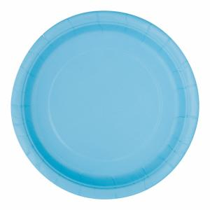 Desserttallrik Ljusblå 20-pack
