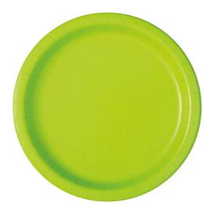 Desserttallrik Limegrön 20-pack