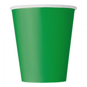 Pappersmuggar Grön 14-pack
