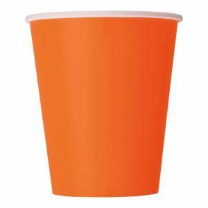 Pappersmuggar Orange 14-pack