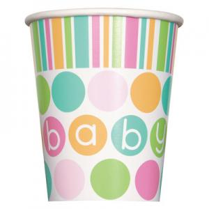 Babyshower Pappersmuggar Baby