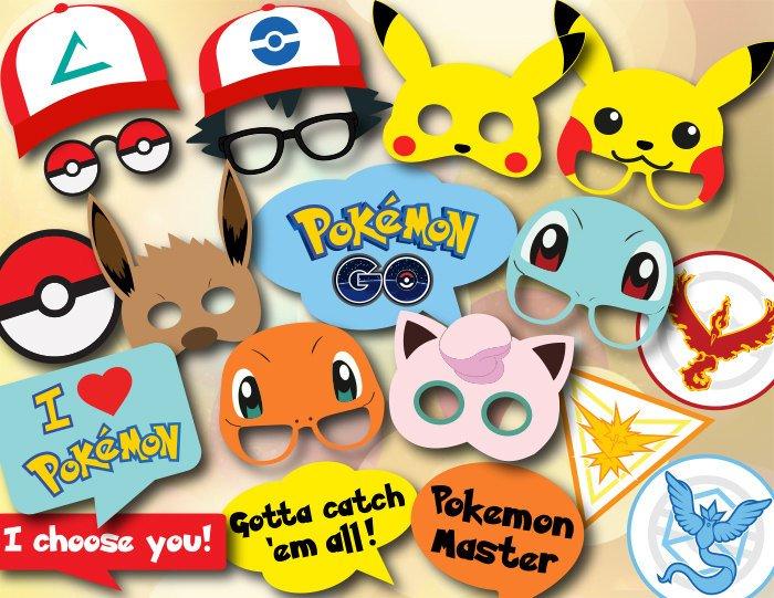 Pokémon fotorekvisita