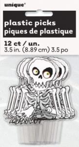 Skelett dekoration till bakelser