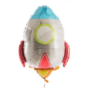 Heliumballong raket