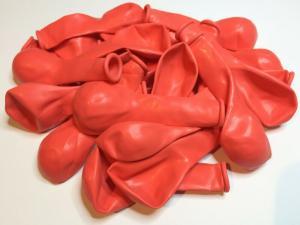 Latexballonger 100-pack pastel röd