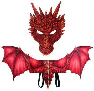 Drak set röd drake