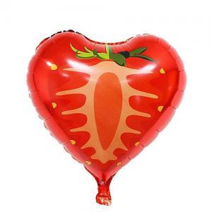 frukt heliumballonger JORDGUBB