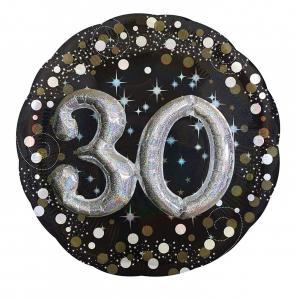 heliumballong Födelsedag 30år 3D