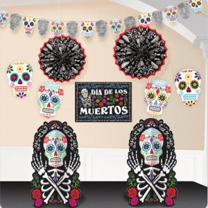 Day of the dead dekorationsset