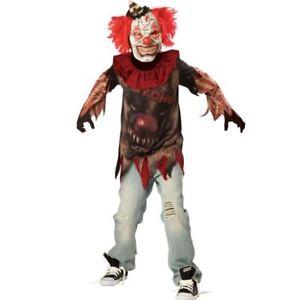 Skräck clown dräkt för tonåringar