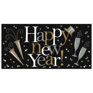 Happy new year vägg dekoration