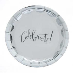 Celebrate! silver tallrikar