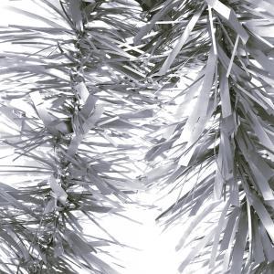 Julglitter mattmetallic silver