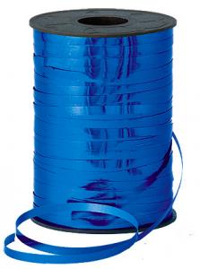 Present snören Metallic blå
