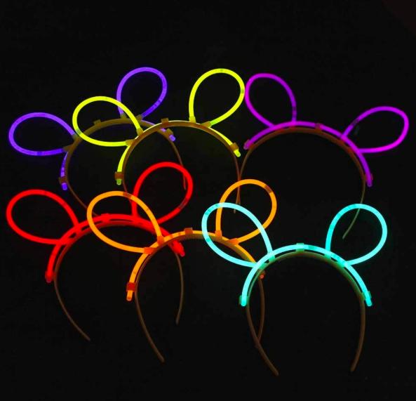 Glowstick Kanin Öron Osorterad