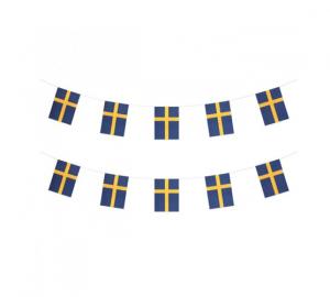 Flagg girlang Sverige 6m