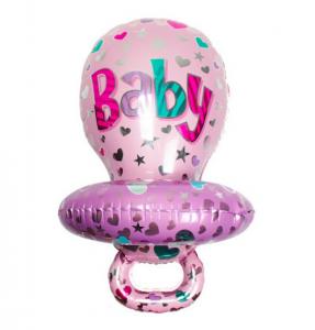 Baby napp folieballong till babyshower