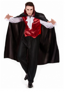 Vampyrdräkt Halloween herrar