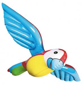 Uppblåsbar Papegoja 55cm
