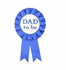 Babyshower Dad To Be Pin