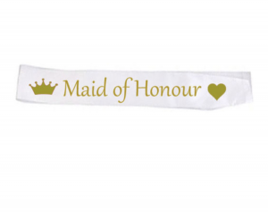 maid of honour ordensband