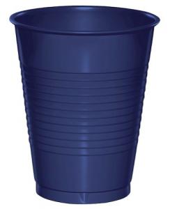 Plastmuggar Blålila 50-pack