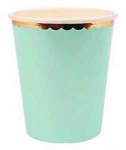 Pappersmugg Pastell Mintgrön 10-pack
